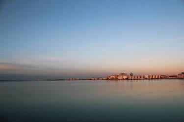 Frozen Bay Sunset 2 by dream93