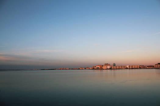 Frozen Bay Sunset 2