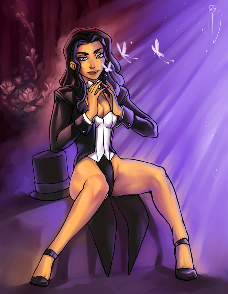 Zatanna Zatara by BaseDesire