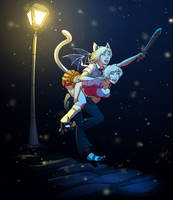 Moonlight piggyback