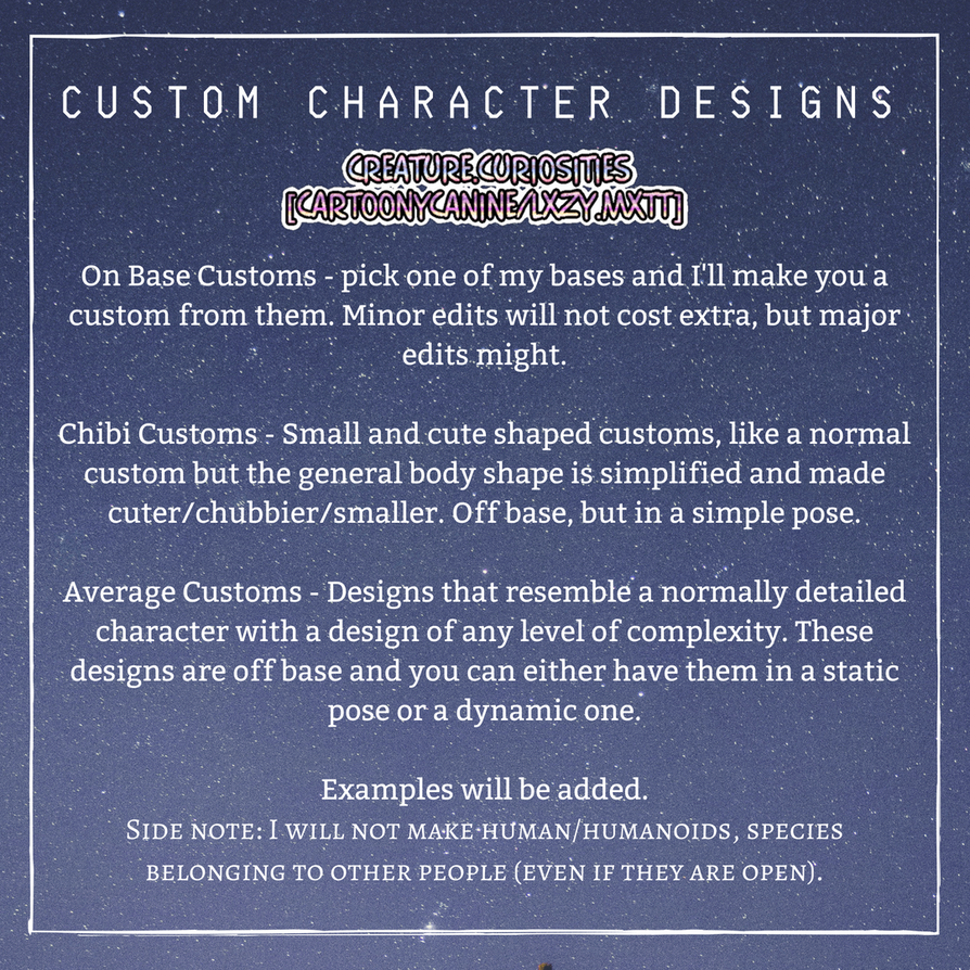 Custom Types Info by CartoonyCanine