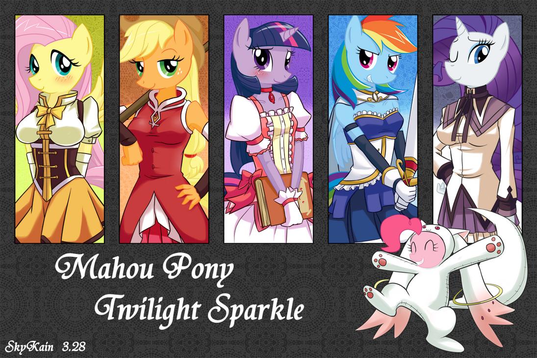 Mahou Pony Twilight Sparkle by SkyKain