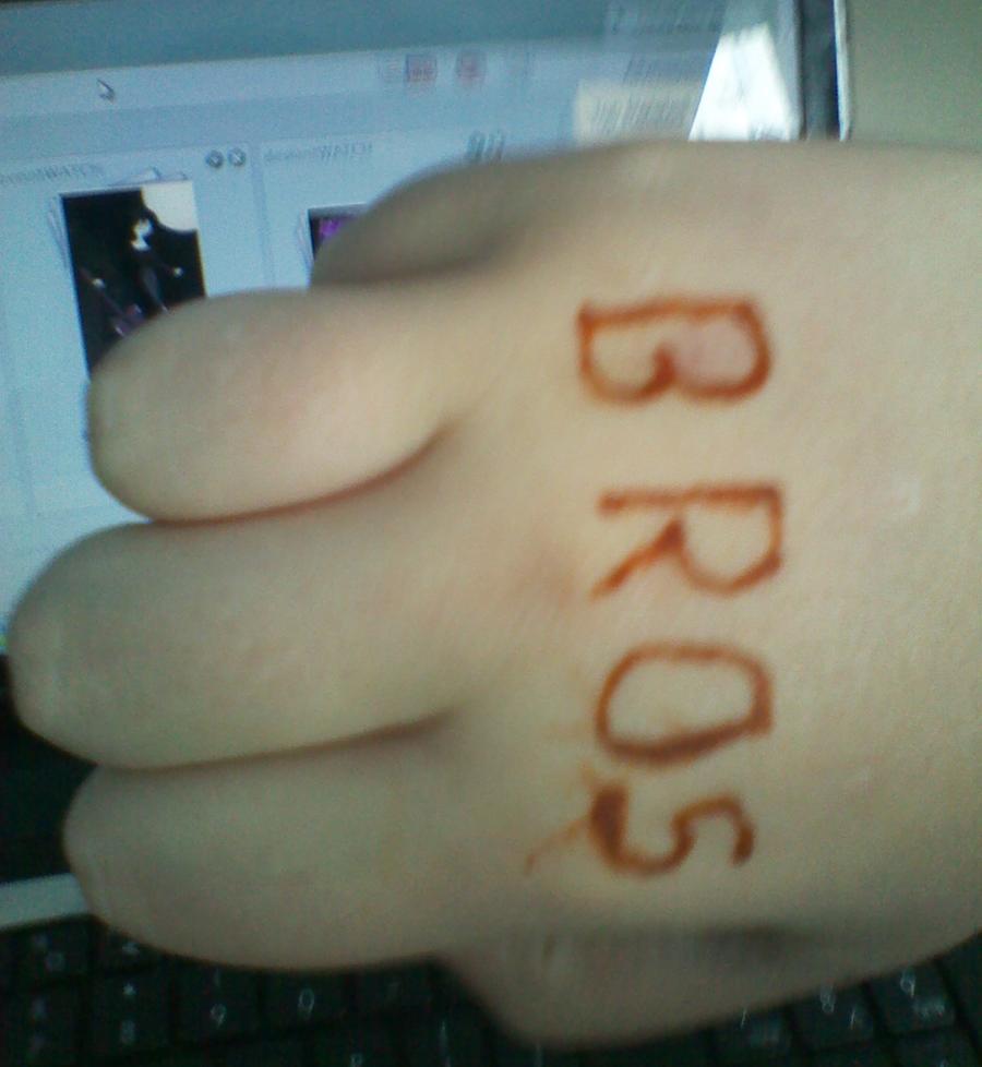 bro fist by Ask-Piggeh