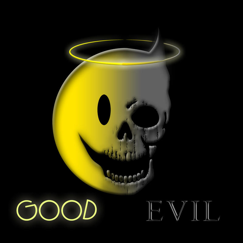 Good vs. EVIL by Crazii1