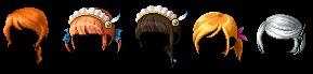 Female NPC Hairs by Externity