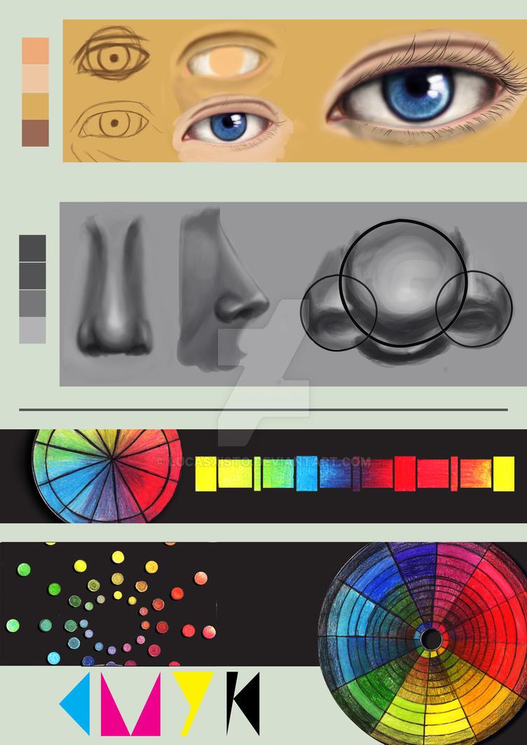 Digital Painting And Color Theory With Pencil By LucasXisto