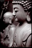 buddha sepia by kesdee