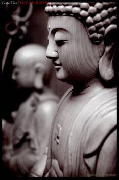 buddha sepia