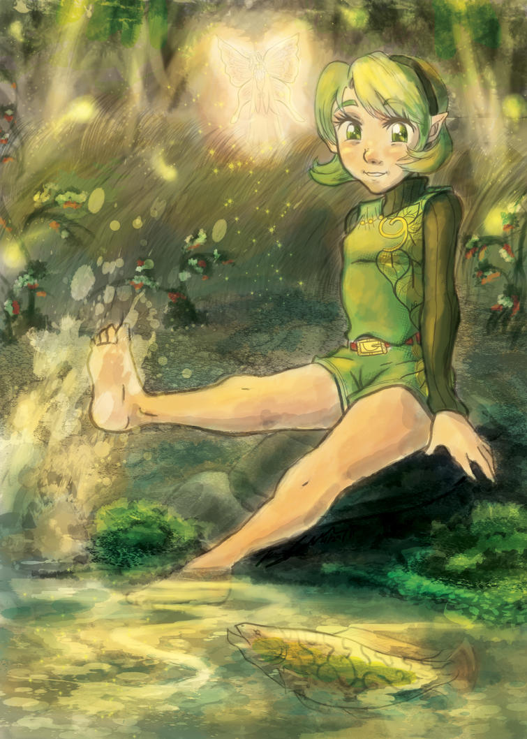 Saria by AudGreen