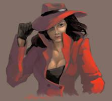 Carmen Sandiego by AudGreen
