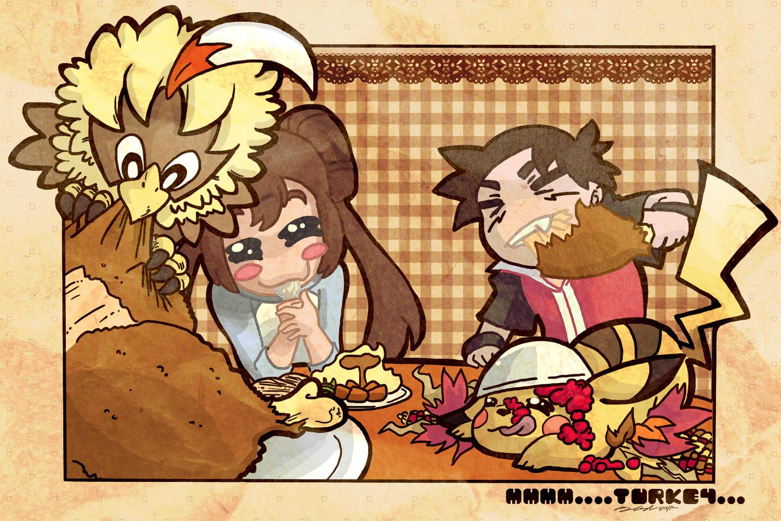 Mmm...Turkey...
