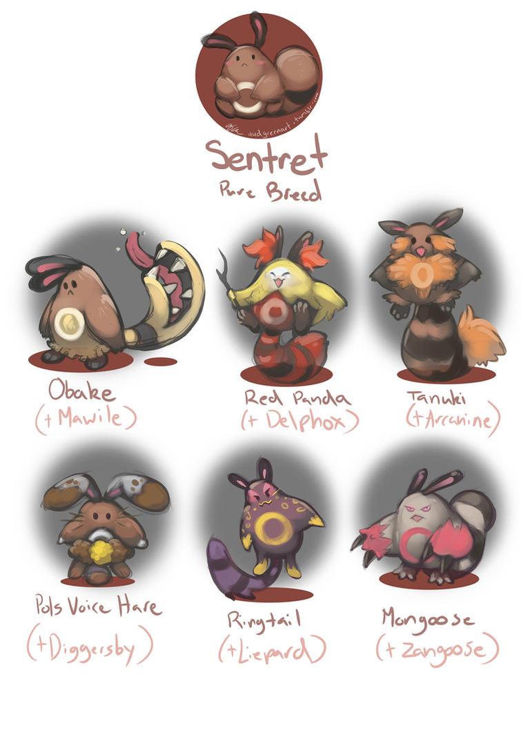 Sentret Variants 2 by AudGreen