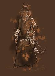 Au Ra Samurai