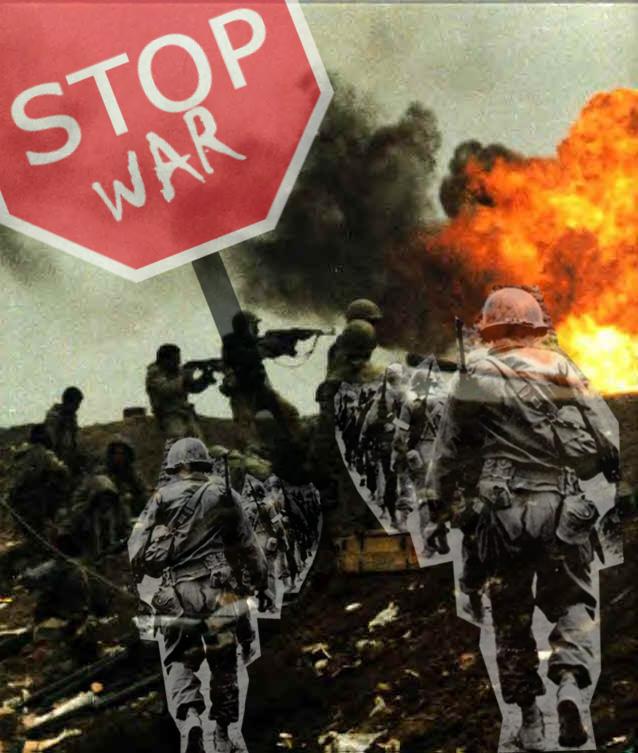 Stop the War by kssmekate