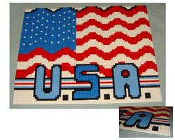 U.S.A. LEGO by legochick08