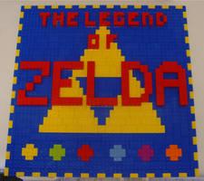 zelda mosaic by legochick08