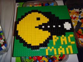 lego pac man by legochick08