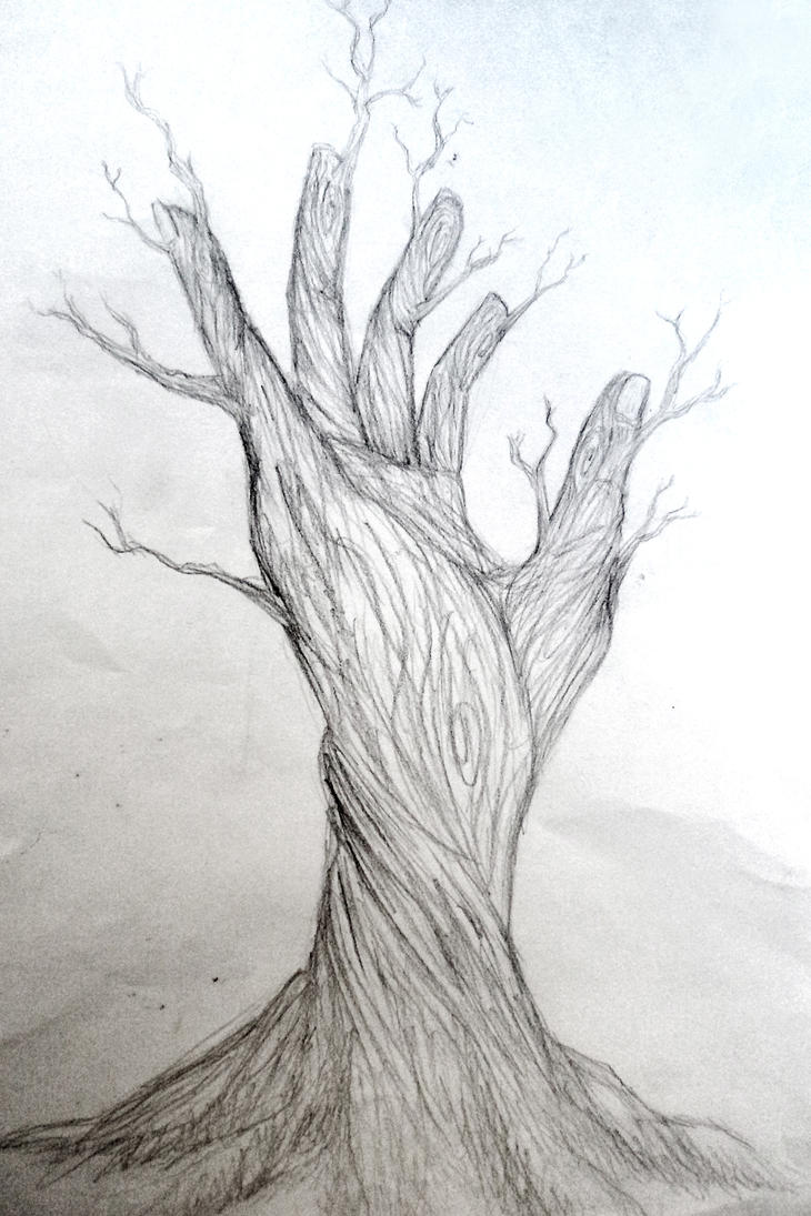 Hybrid nature by fatalxframe on deviantart for Simple creative art drawings
