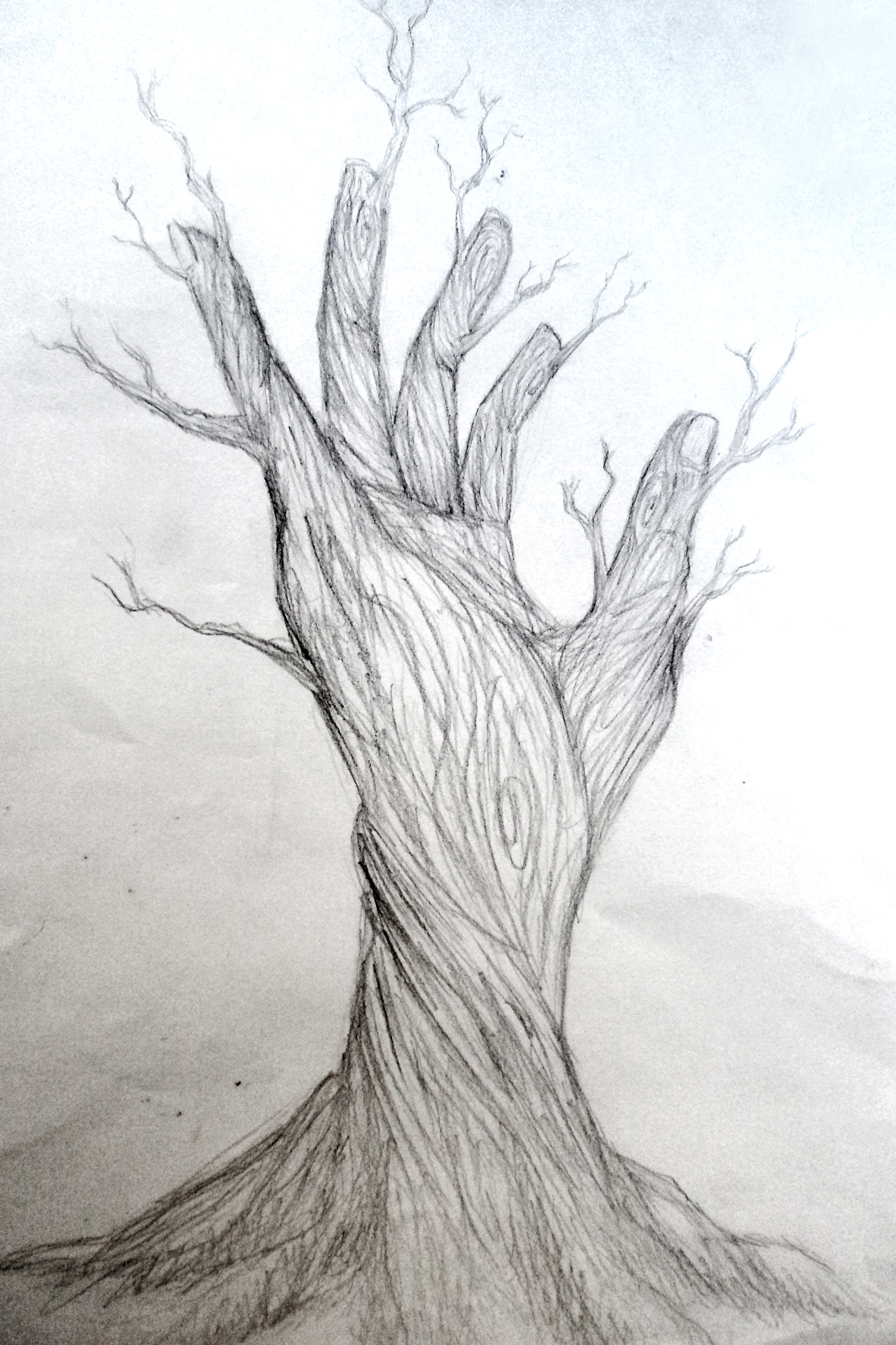 Hybrid nature by fatalxframe on deviantart for Simple beautiful drawings