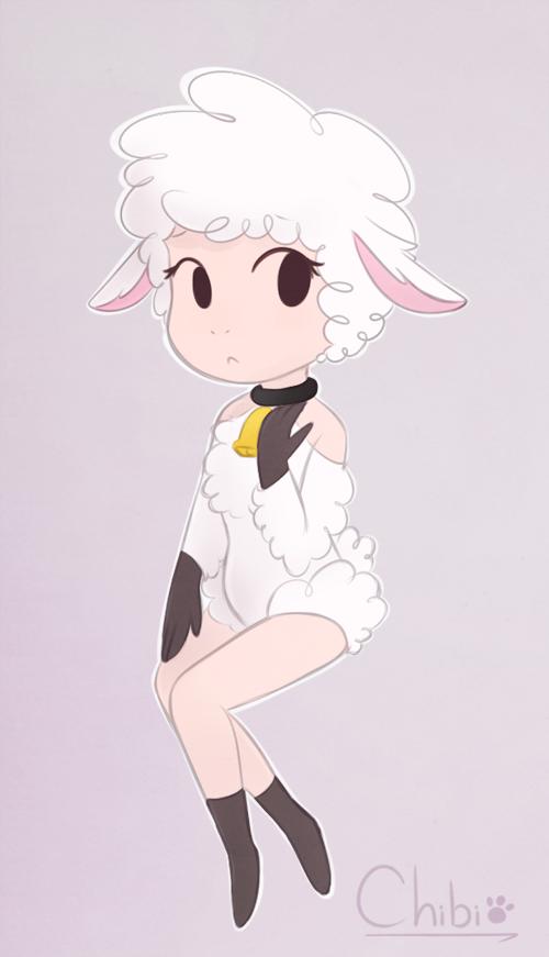 Leggy Lamb by Sunnynoga