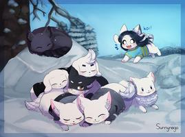 Winter Puppies by Sunnynoga