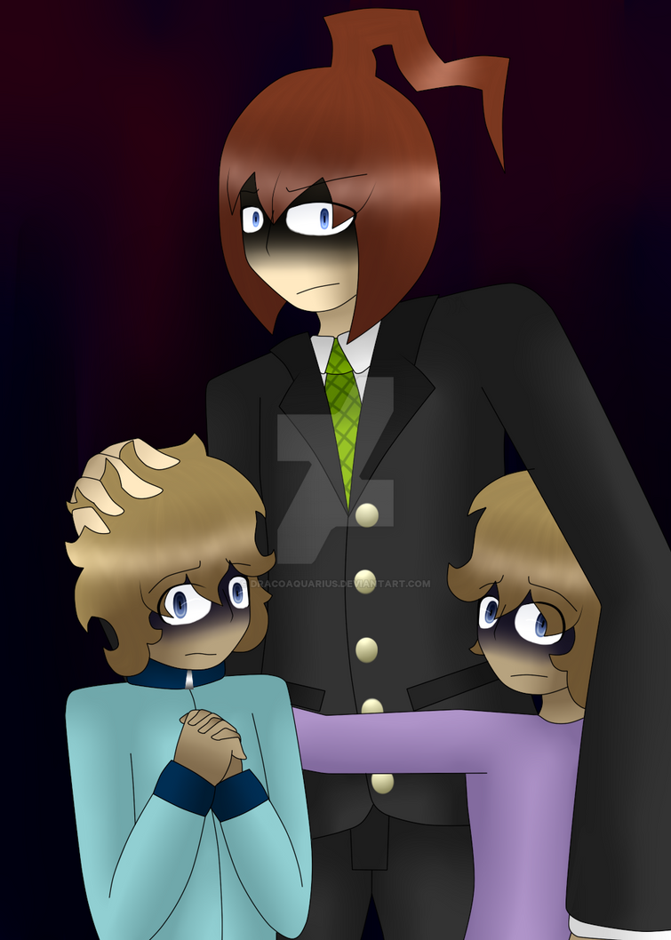 His Kids by DracoAquarius