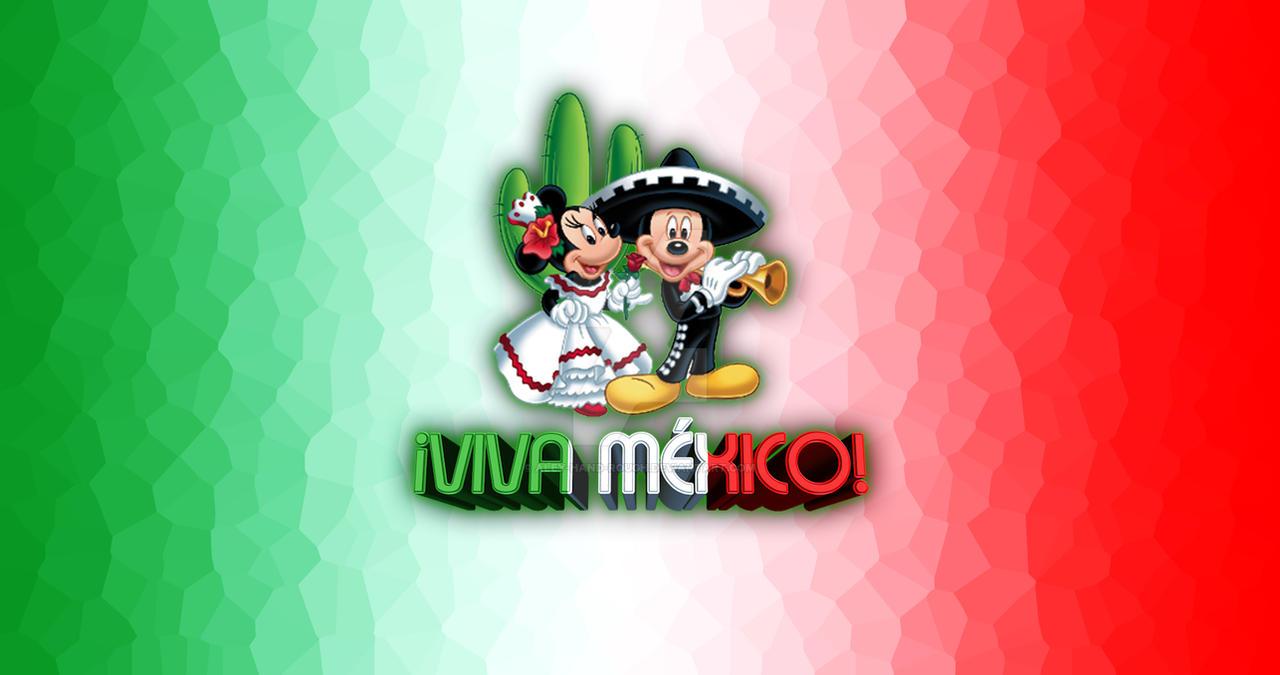 Viva Mexico Disney Mickey Minnie Wallpaper By Aley Hand