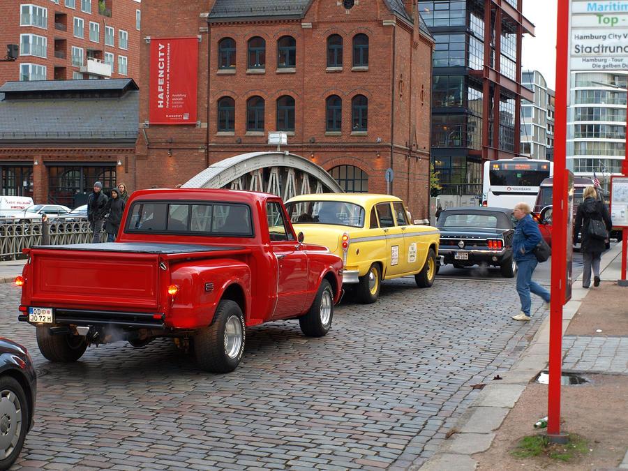 hamburg port city us cars by sandor99 on deviantart. Black Bedroom Furniture Sets. Home Design Ideas