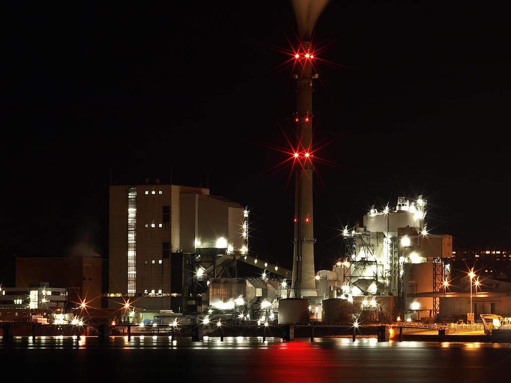 Kiel Night Impressions by sandor99