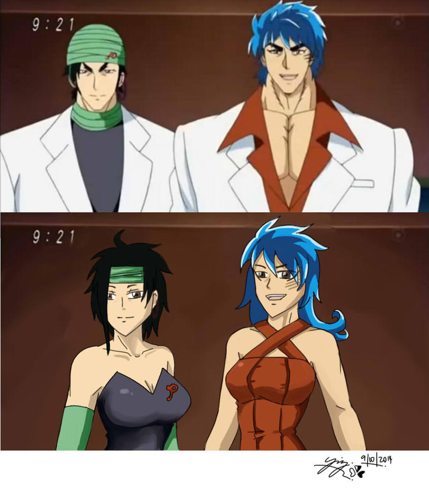 Toriko Gender Bender:I Eat He Guess By ZakuraRain On