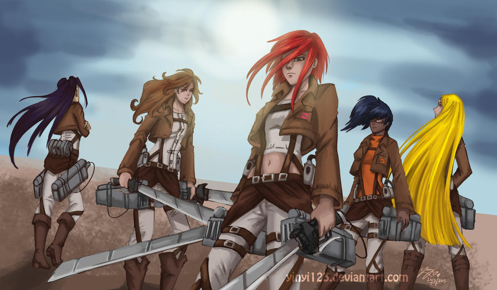 Witch : Attack on Titan by yinyi123