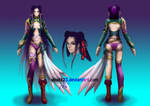 Warrior Hay Lin concept by ZakuraRain
