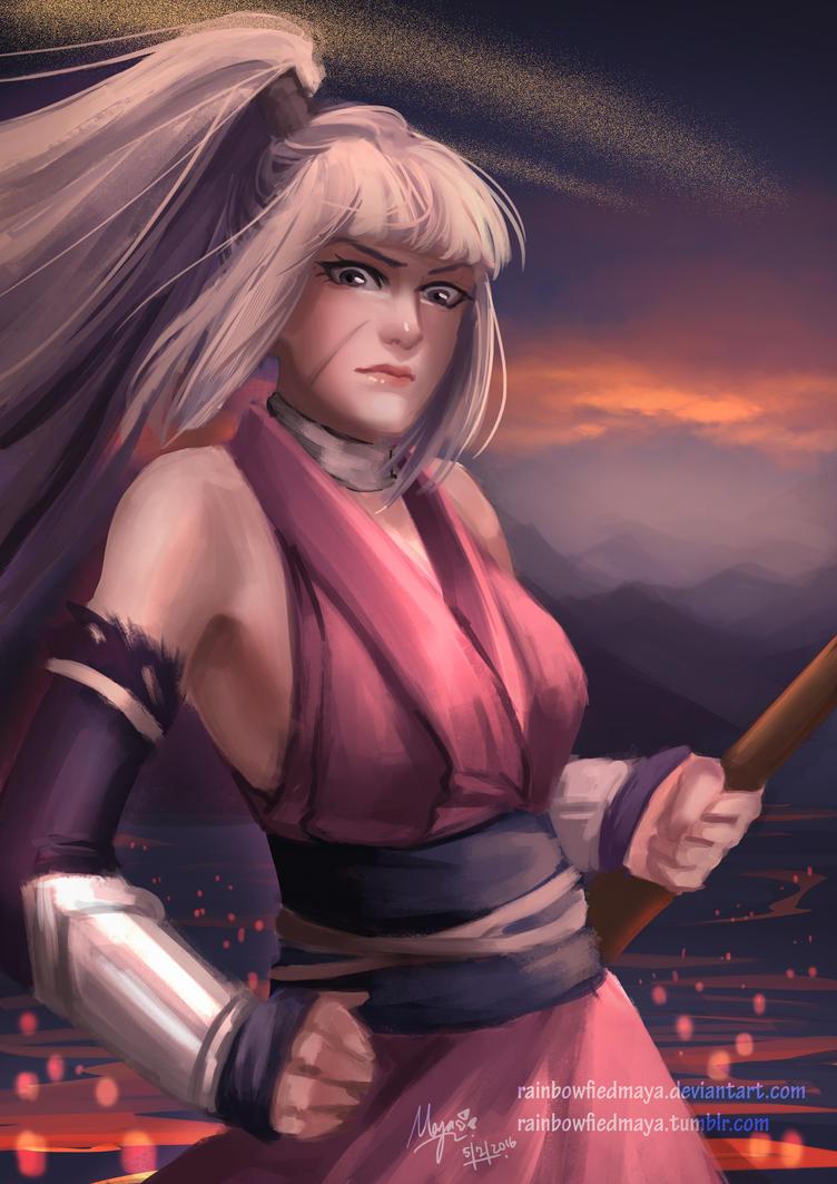 New year ninja by RainbowfiedMaya