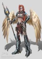 Headhunter Angel by ZakuraRain