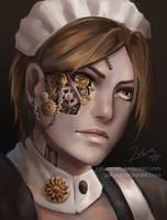 Maria portrait by ZakuraRain