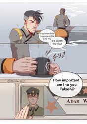 I Won't Be Here pg1 by ZakuraRain