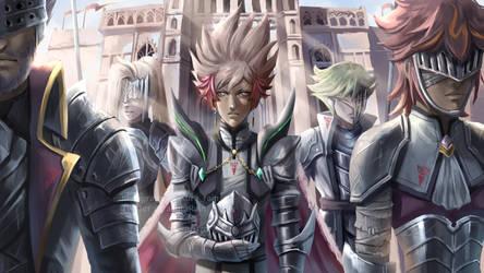 Knights of Hanoi