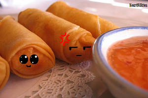 :Egg Rolls: by Heart4Skies