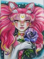 Sailor chibi moon by misslepard