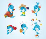 Bluefit Mascot 2