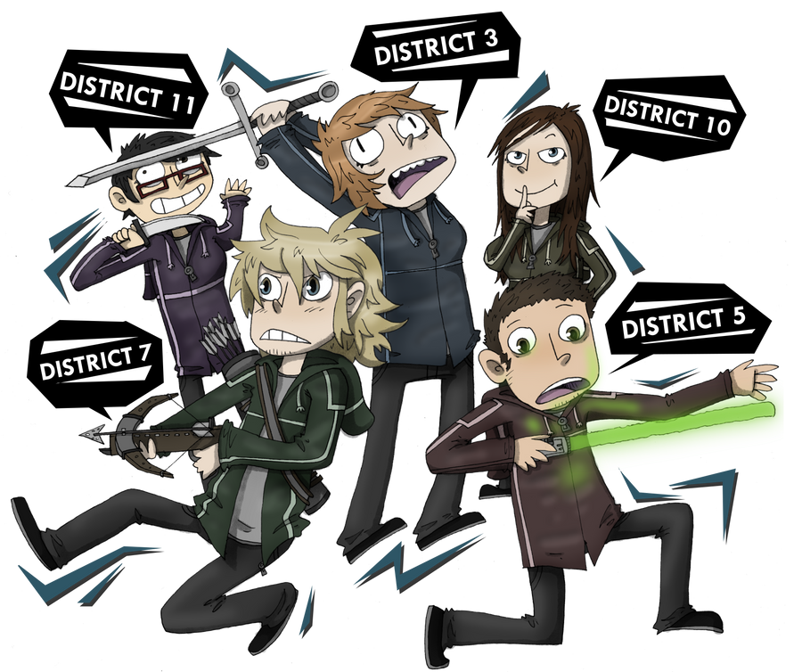 Hunger Games - My version! by ZeTrystan