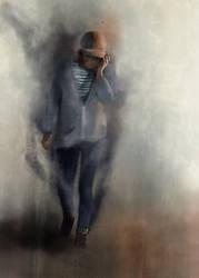 The Walking Girl by ZeTrystan
