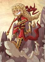Sun Wukong by ZeTrystan