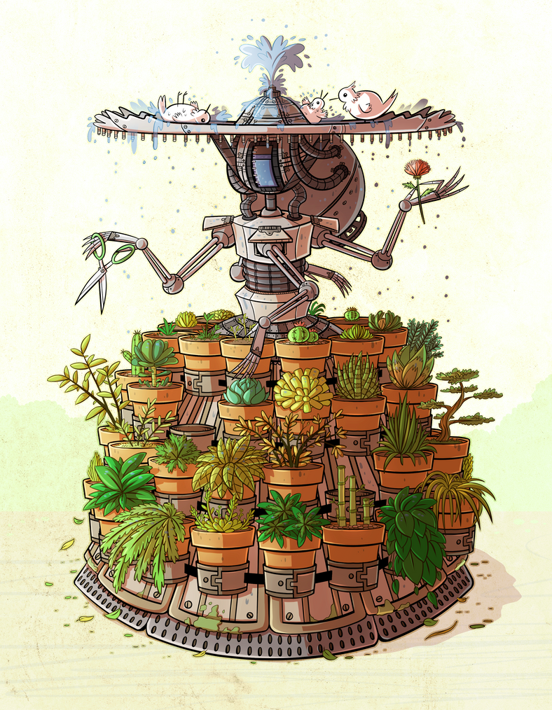 Marvellous Lady Garden by ZeTrystan on DeviantArt