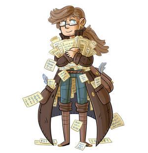 Prospero Dei, The Scribe