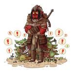 Hobgoblin and his goblins
