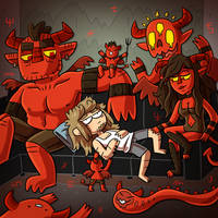 Morning demons