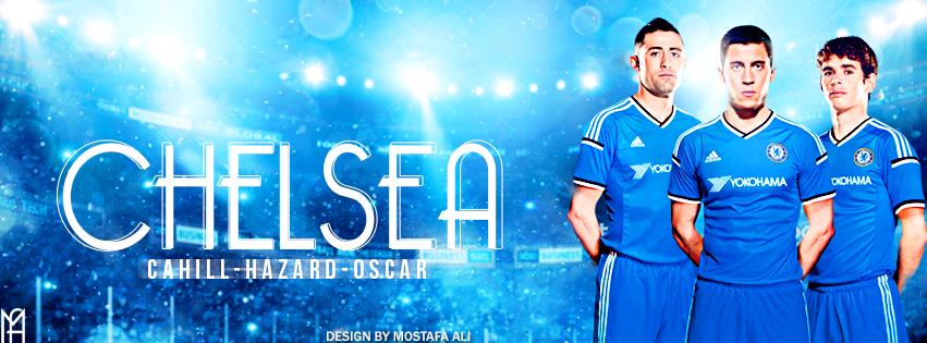 Fc Chelsea Cahill Hazard Oscar 2015 16 By Mostafarock
