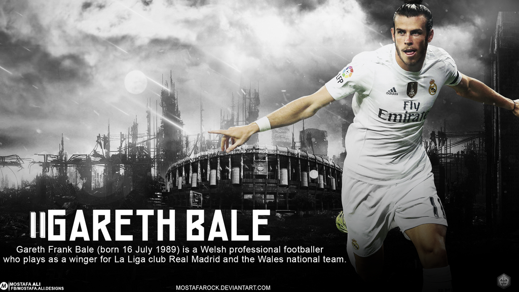 Gareth Bale Wallpaper By Mostafarock Real Madrid
