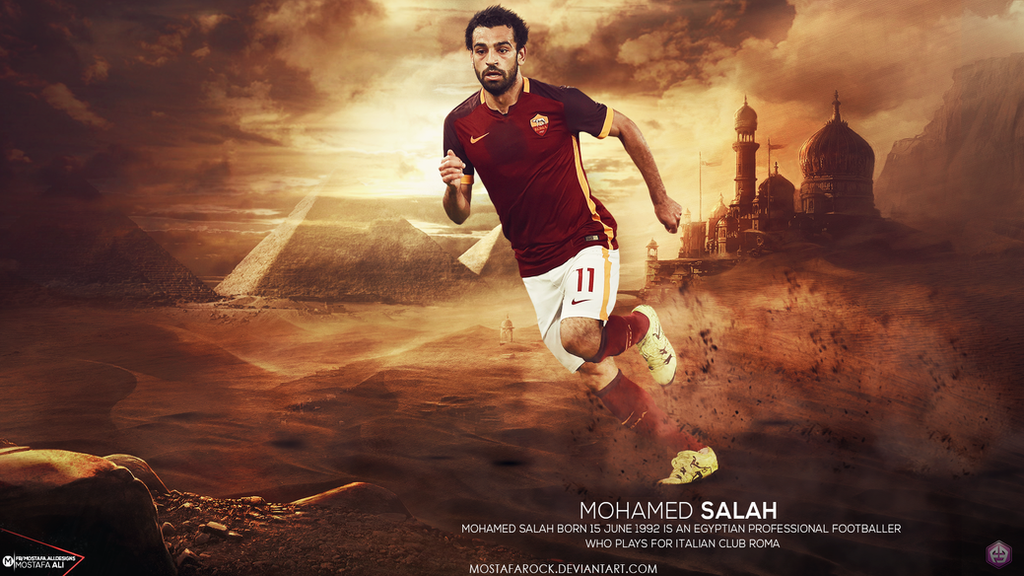 Mohamed Salah Wallpaper By Mostafarock On DeviantArt